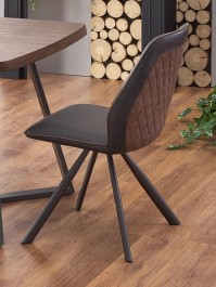 Krzesło do jadalni z ekoskóry K319