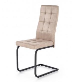 Tapicerowane krzesło do jadalni na płozach K310