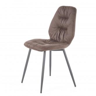 Krzesło do jadalni tapicerowane tkaniną K312