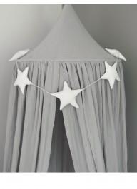 Dekoracyjny baldachim z tkaniny muślinowej do pokoju dziecka