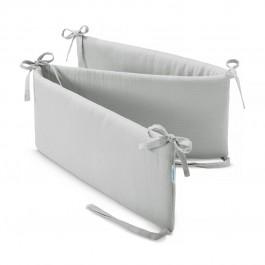 Ochraniacz do łóżeczka dziecięcego z gładkiej tkaniny muślinowej