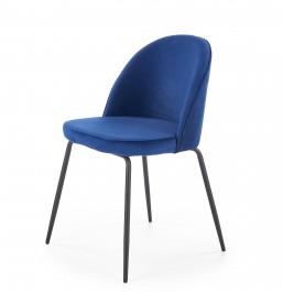 Tapicerowane krzesło do jadalni z niskim oparciem K314