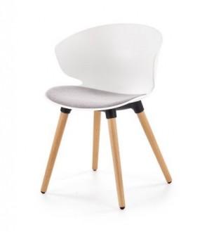 Krzesło z tapicerowanym siedziskiem K324