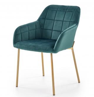 Tapicerowane krzesło do jadalni z podłokietnikami K306