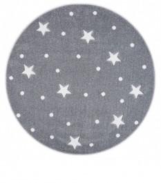 Okrągły dywan do pokoju dziecięcego Galaxy
