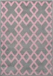 Dywan w geometryczne wzory do pokoju dziecka Segment