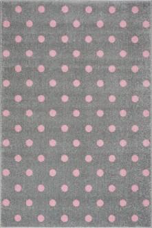 Nowoczesny dywan w groszki do pokoju dziecięcego Dots