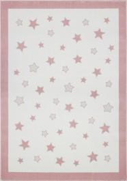 Pastelowy dywan do pokoju dziecięcego Pastel Frame