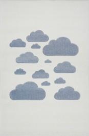 Dywan w chmurki do pokoju dziecięcego Cloudy Sky
