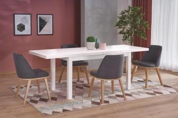 Rozkładany stół do jadalni Tiago 2 w kolorze białym