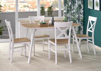 Rozkładany stół do jadalni ze skośnymi nogami Kajetan 2
