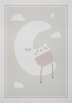 Pastelowy dywan do pokoju dziecka Sleepy Moon