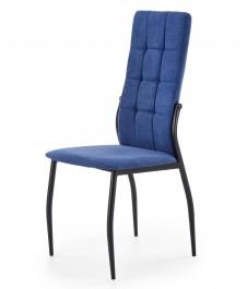 Tapicerowane krzesło do jadalni z wysokim oparciem K334