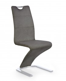 Tapicerowane krzesło do jadalni na płozach K350