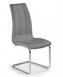 Tapicerowane krzesło do jadalni na płozach K346