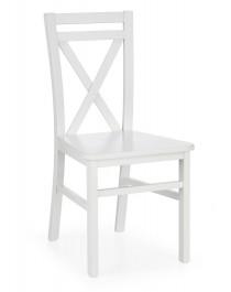 Drewniane krzesło do jadalni Dariusz 2 biały