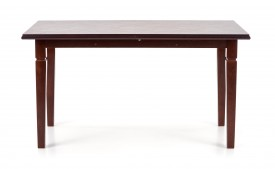 Rozkładany stół do jadalni Marcel ciemny orzech