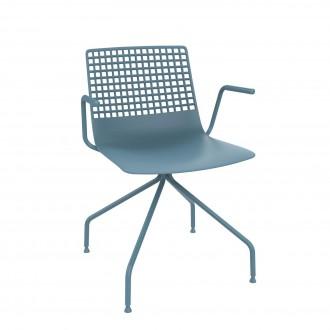 Krzesło konferencyjne z podłokietnikami Wire Arana