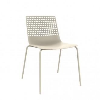 Krzesło biurowe bez podłokietników Wire 4