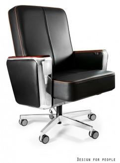 Skórzany fotel biurowy Regent Low