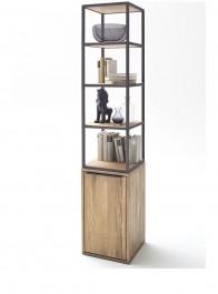 Regał z szafką i półkami Wild w stylu industrialnym