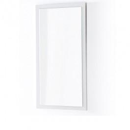 Białe lustro ścienne w wysokim połysku Barney 2
