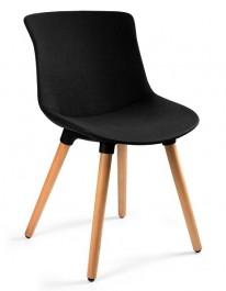 Tapicerowane krzesło do kawiarni Easy MR