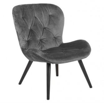 Tapicerowany fotel z pikowanym siedziskiem Batilda VIC
