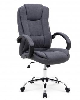Fotel biurowy tapicerowany tkaniną Relax 2