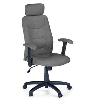 Tapicerowany fotel biurowy z zagłówkiem Stilo 2
