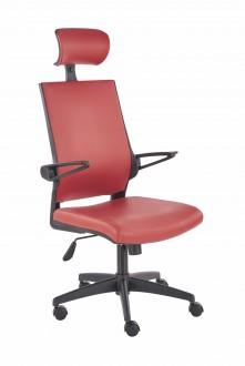 Krzesło tapicerowane ze skóry ekologicznej Ducat