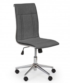 Nowoczesne krzesło biurowe tapicerowane tkaniną Porto 3