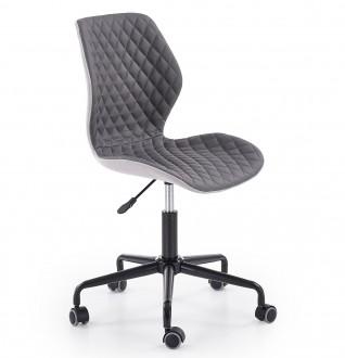 Pikowane krzesło biurowe do pokoju młodzieżowego Uber
