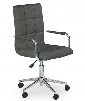 Pikowane krzesło biurowe tapicerowane tkaniną Gonzo 3