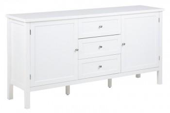Biała komoda w stylu klasycznym Eton