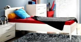 Łóżko 09 Snow z wkładem