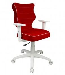 Krzesło obrotowe dla młodzieży Duo White