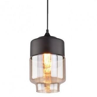 Wisząca lampa Manhattan Chic 2 czarna