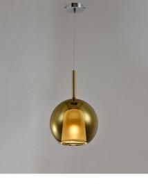 Szklana lampa sufitowa z regulacją wysokości Euforia 1 25cm
