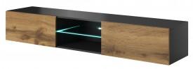 Szafka RTV z oświetleniem LED Livo 180W dąb wotan