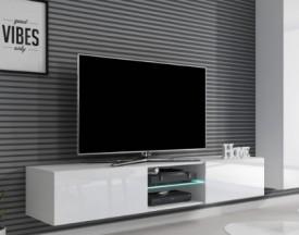 Szafka RTV z oświetleniem LED Livo 180W biała