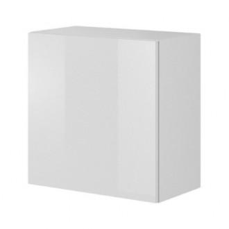 Kwadratowa szafka wisząca Livo W55 biała
