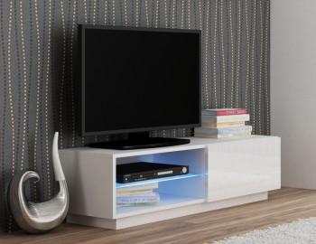 Stojąca szafka pod telewizor Livo RTV 120S biała