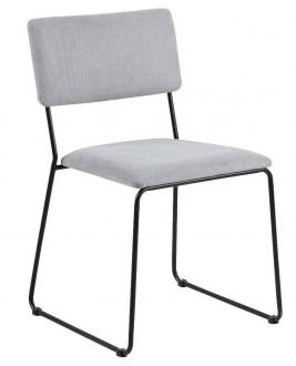 Tapicerowane krzesło konferencyjne bez podłokietników Cornelia
