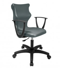 Szkolne krzesło obrotowe dla młodzieży z podłokietnikami Twist