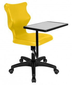 Krzesło szkolne z pulpitem Twist Plus