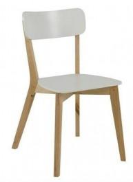 Drewniane krzesło w stylu skandynawskim Raven