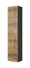 Prostokątna szafka wisząca Livo S180 dąb wotan