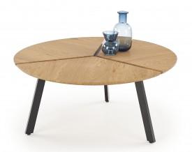 Stolik kawowy z okrągłym blatem Luana