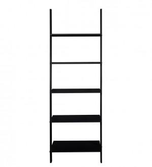 Wysoki regał drabina w kolorze czarnym Writex